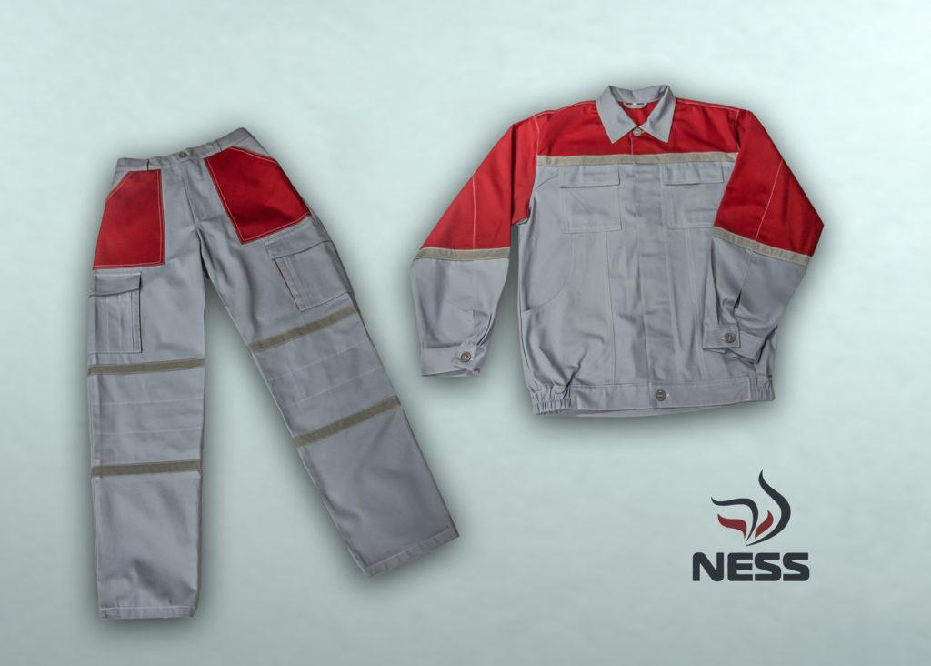 Комплект летний рабочий (куртка, брюки) Защита от общепроизводственных загрязнений Ткань: «Мастер-Универсал  С25» , хлопок – 100%, 250 г/м²